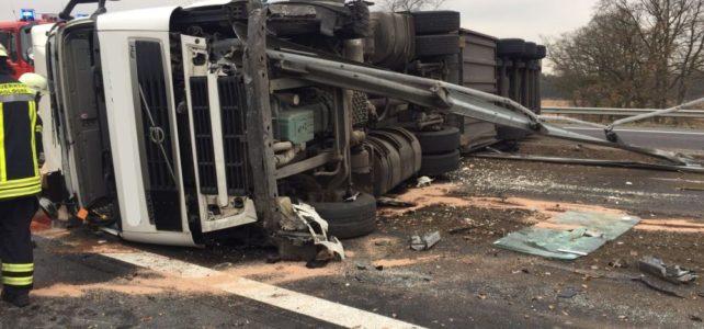 Verkehrsunfall A1 / 30.11.16