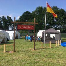 Pfingstzeltlager in Langförden 2018 – Ehrung für ehemaligen JF-Wart
