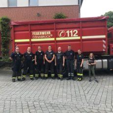 Besuch der Atemschutzstrecke BF Osnabrück / 03.06.2018