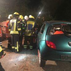 Ausbildung Verkehrsunfall PKW / 18.09.2018