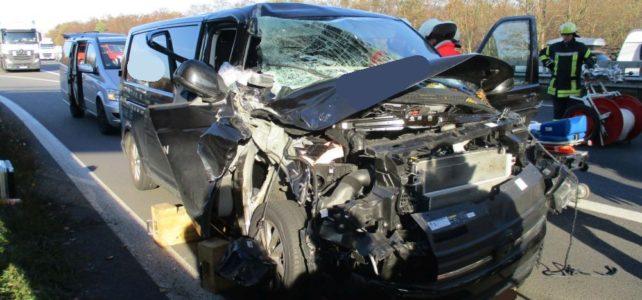 schwerer Verkehrsunfall A1 / 15.11.2018