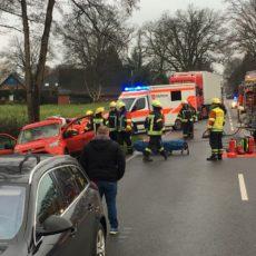 Verkehrsunfall B214 / 11.01.19
