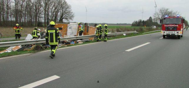 Verkehrsunfall A1 / 28.03.2019