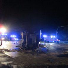 Verkehrsunfall B214-HansaCenter / 27.04.19