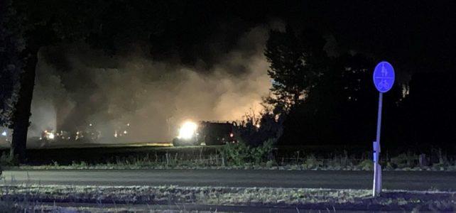 Scheunenbrand Vörden – Strohlager / 28.07.2019