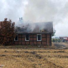 Gebäudebrand Neuenkirchen / 15.08.2019