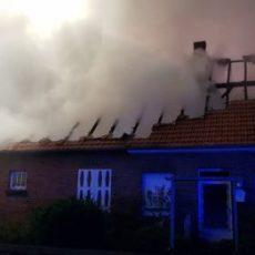 Wohnhausbrand Neuenkirchen / 28.10.19