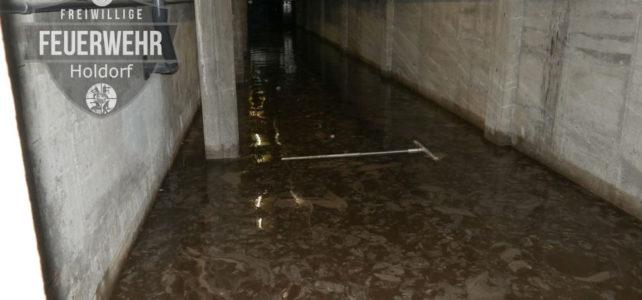 Keller unter Wasser / 06.08.2020