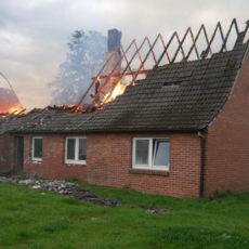Wohnhausbrand Fladderlohausen / 04.10.2020