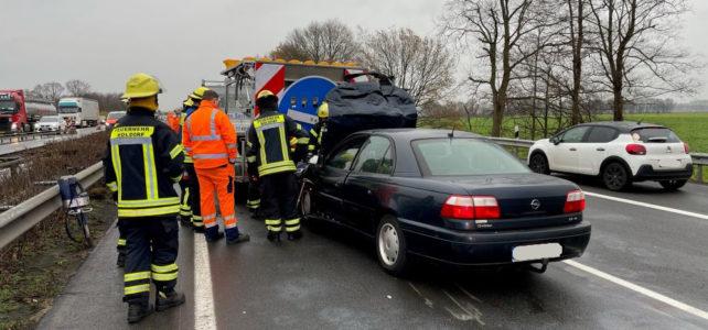 Verkehrsunfall A1 / 15.12.2020