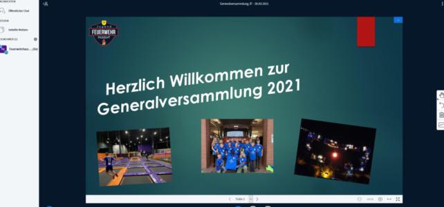 Generalversammlung der JF Holdorf / 26.03.2021