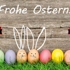 Frohe Ostern / 03.04.2021