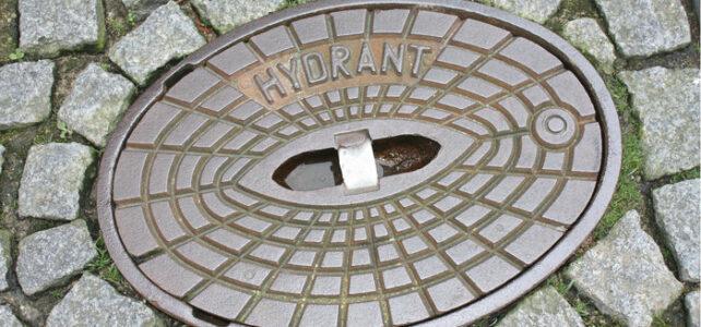 Hydrantenkontrolle / Hinweis