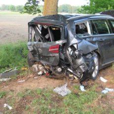 schwerer Verkehrsunfall B214 / 19.05.16