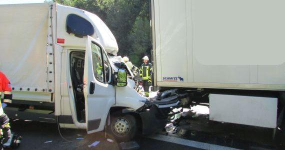 Verkehrsunfall A1 / 19.07.16